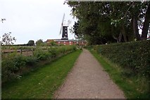 TA0233 : Track to Skidby Windmill by Steve Daniels