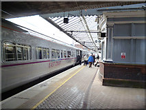 NT9953 : Berwick-upon-Tweed station by Dr Neil Clifton