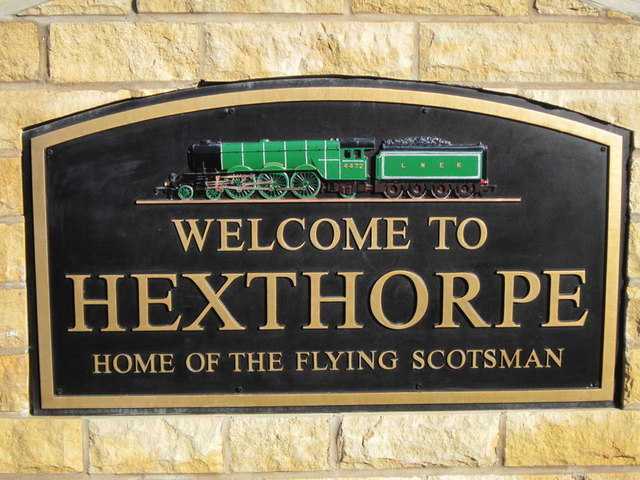 Welcome to Hexthorpe, home of the Flying Scotsman