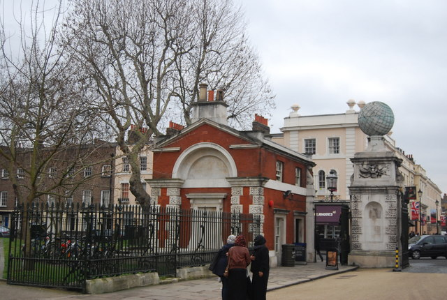Royal Naval College - West gate lodge
