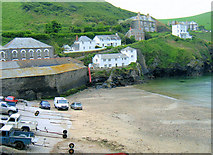 SW9980 : Port Isaac, Harbour Beach by Roy Hughes