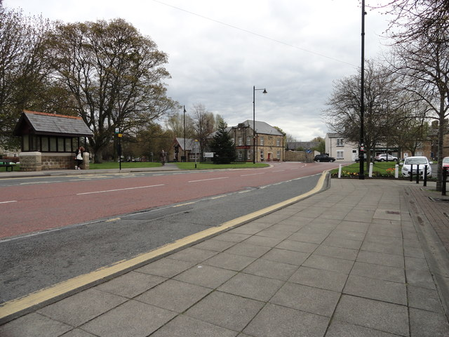 View of Lanchester village centre