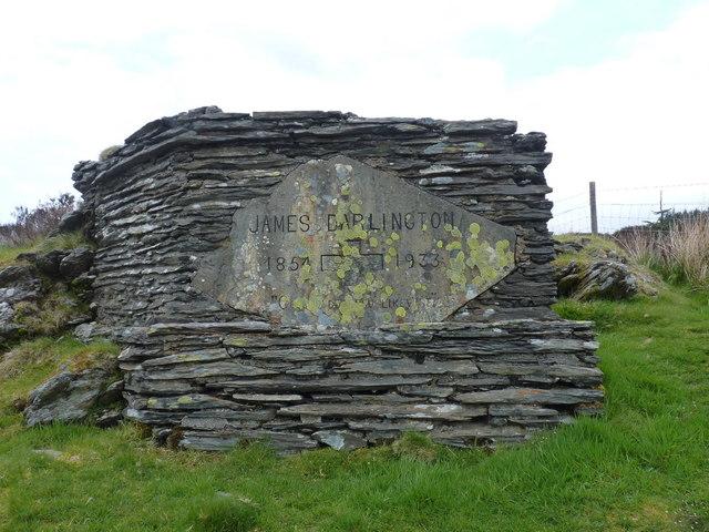Memorial to James Darlington