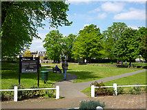 TQ2075 : Mortlake Green by Robin Webster