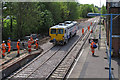 TM4290 : Tamping machine on the newly installed Beccles Loop (1) by Roger Jones