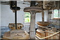 SO7263 : Shelsley Walsh watermill - stone floor by Chris Allen