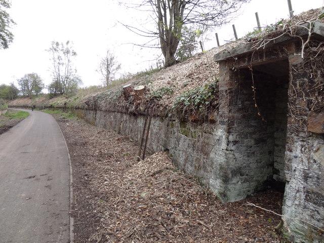 Former Line side Shelter on ex Waverley Railway Line