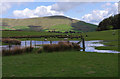 SD5745 : Waterlogged field near Vicarage Farm by Ian Taylor