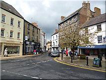 NY9364 : Hexham:  Church Row by Dr Neil Clifton