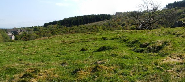 The remains of Hillock