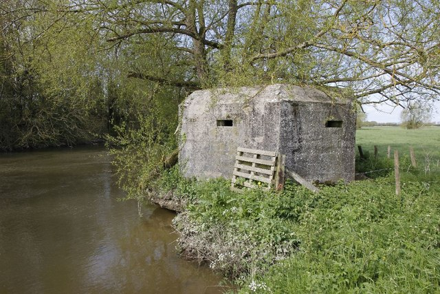 Pallet by the pillbox