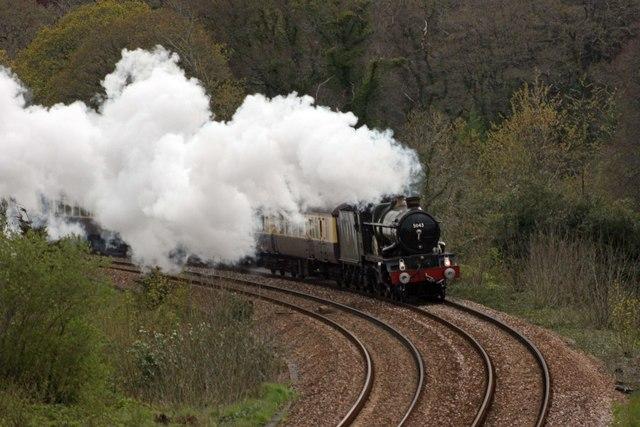 Railway at Stowford