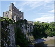 ST5394 : Chepstow Castle Great Tower by Rob Farrow