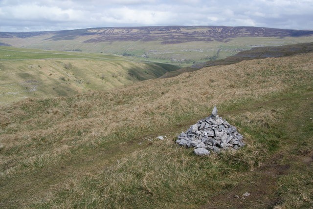 Small cairn by the Monk's Road