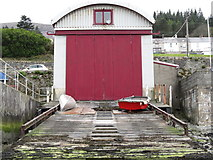 J3829 : The old RNLI station at Newcastle Harbour by Eric Jones