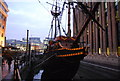 TQ3280 : The Golden Hinde by N Chadwick