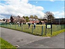 SJ9297 : Oxford Park, Ashton under Lyne by Gerald England