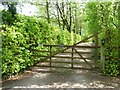SJ7274 : Entrance to Orchard Cottage, Plumley Moor by Christine Johnstone
