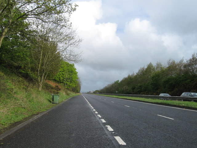 A1 heading north west