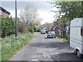 SE1232 : Middle Lane - viewed from Brecks Road by Betty Longbottom