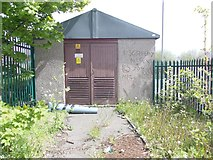 SE1232 : Electricity Substation No 1005 - Bradford Road by Betty Longbottom