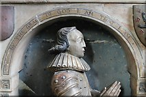 SK2168 : Another Manners son, Memorial in Bakewell church by J.Hannan-Briggs