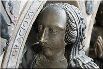 SK2168 : Manners daughter, memorial, All Saints' church, Bakewell by J.Hannan-Briggs