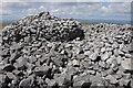 SN7417 : Summit cairn - Garreg Lwyd by Philip Halling