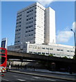 TQ2781 : Burne House, London NW1 by Jaggery