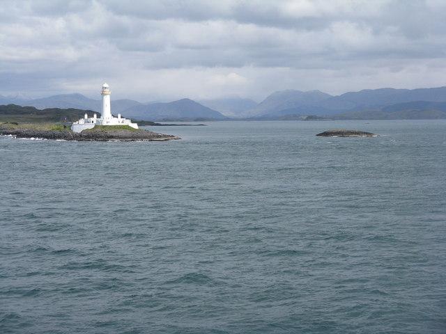 Sgeir Mor and Lismore lighthouse