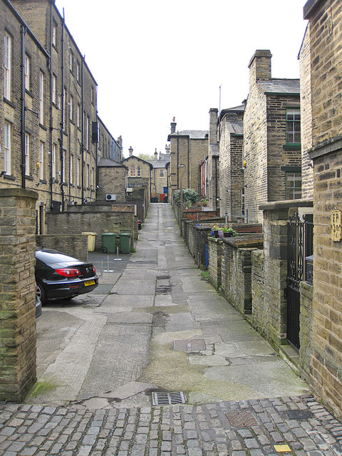 Back street in Saltaire