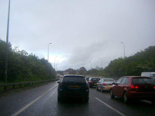 Gridlock on the A12, Mountnessing
