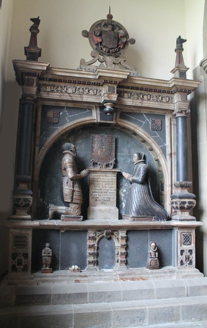 Monument to Sir John Manners & wife, All Saints' church, Bakewell