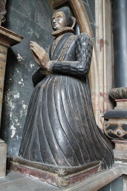 Dorothy Manners (neé Vernon), All Saints' church, Bakewell