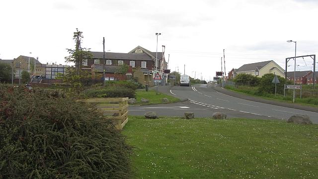 Level crossing, Widdrington Station