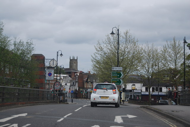 One way system, East Grinstead