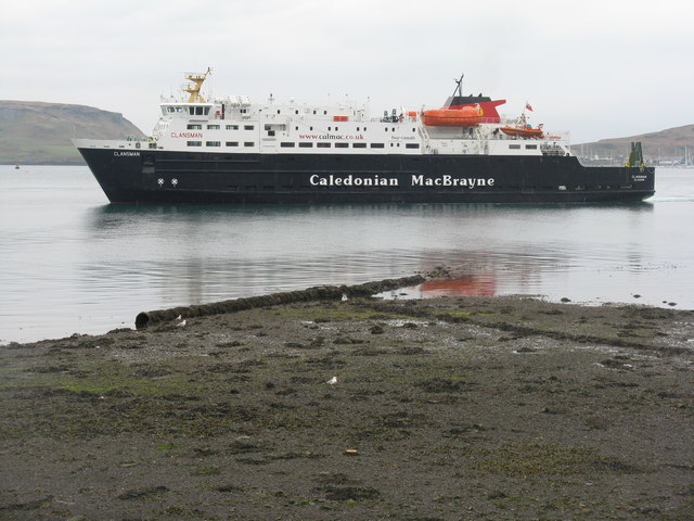 The 'Clansman' in Oban Bay