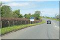 NY5422 : A6 north at Hackthorpe Hall by John Firth