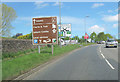 NY5228 : Approaching A66 junction at Eamont Bridge by John Firth