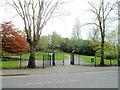 SO9690 : An entrance to Tividale Park, Tividale by Jaggery