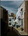 TQ3104 : Blenheim Place, Brighton, Sussex by Peter Trimming