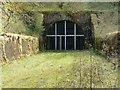 NT5201 : The north portal of Whitrope Tunnel by Walter Baxter