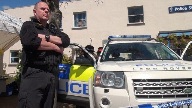 Tiverton : Lowman Green Police Station