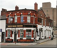 SJ8989 : Town Hall Tavern by Gerald England