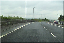 NS4464 : A737 immediately south of A761 slip road by John Firth