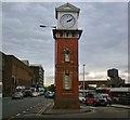 SJ7687 : Altrincham Clock Tower by Gerald England