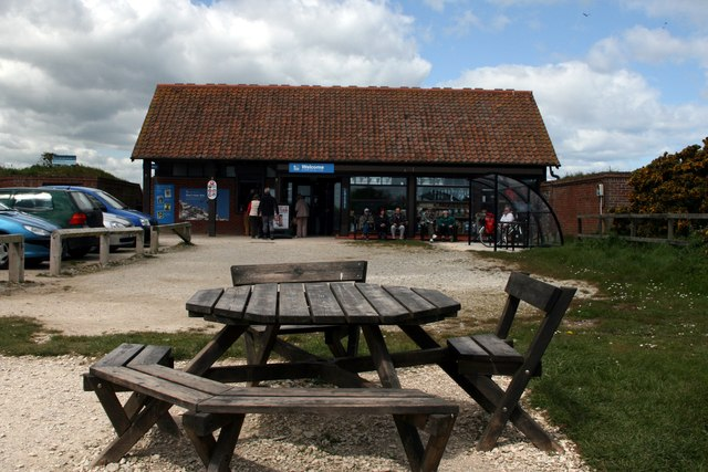 The Visitor Centre at Bempton Cliffs