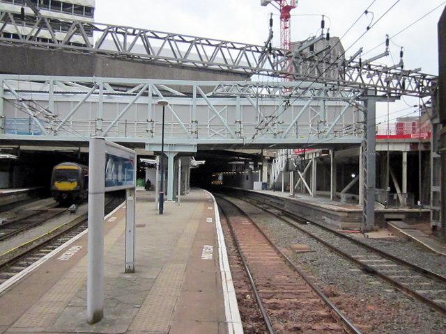 New Street Station Platform 11, Work Continuing