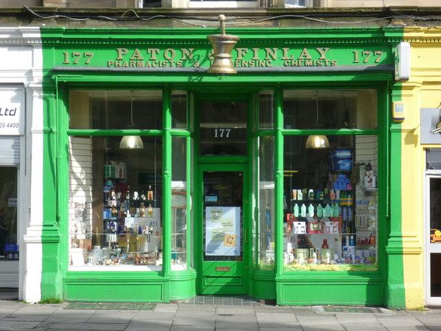 Paton & Finlay, Bruntsfield Place