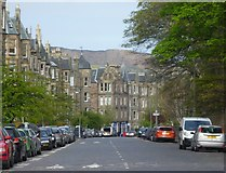 NT2572 : Warrender Park Road, Marchmont by kim traynor